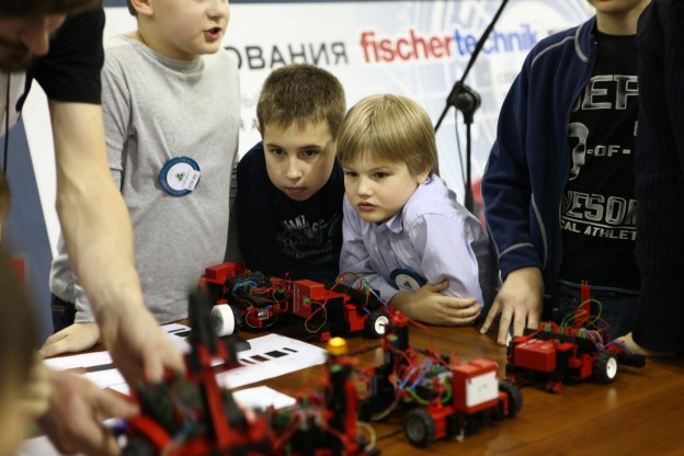 Готовимся к соревнованиям Робофинст